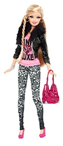 Barbie Style Pink Luxe Doll