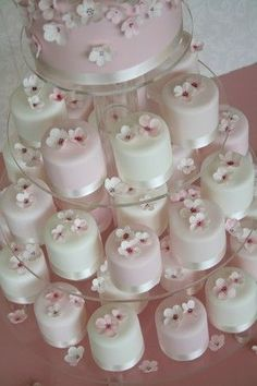 Google Image Result for http://www.my-wedding-cake-ideas.com/images/stories/jreviews/wedding-cake-cupcake-pink-blossom-zc4_e.jpg #weddingcakes