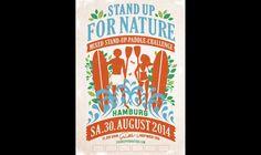 HAMBURG for NATURE ist die Stand-Up-Paddling Challenge für einen guten Zweck am Samstag, den 30. August 2014 auf dem Langen Zug bei Fiedler's.