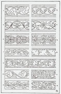 Orna094-Blatt-Rankenband - Category:Meyer's Ornament - Wikimedia Commons