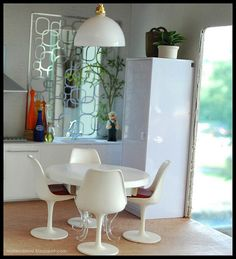 Modern Miniature Roombox by Atomic Ω Blythe, via Flickr