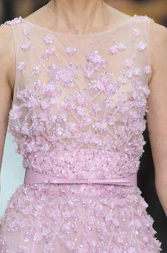 Elie Saab Spring Pink