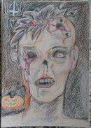 Зомби к Хеллоуину
