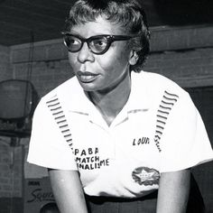 Louise Fulton (1916-1988) was a professional bowler from the Garfield neighborhood of #Pittsburgh. Though she didn't start bowling until her early twenties she took to it quickly eventually joining the women's professional team in the 1960s along with her sister Margaret Mitchell. Fulton made history twice: she was the first African American to win a professional bowling title at the Princeton Open in 1964 and she was the first African American to be inducted into the National Bowling Hall…