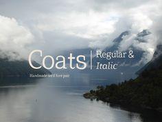 Coats Regular & Coats Italic ( FREE DOWNLOAD )