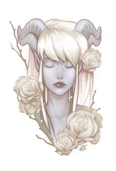 Hunter's roses by silverteahouse on DeviantArt