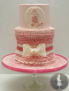 Leave the Pink Poodle off and put a monogram on the Birthday Cake
