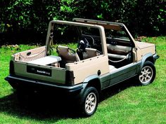 Fiat Panda 4x4 Strip (ItalDesign), 1980