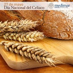 El 27 de Mayo celebramos el día de todos aquellos que sufren intolerancia al gluten del trigo, cebada, centeno y avena. #DíaNacionalDelCeliaco