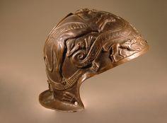 Roman parade helmet with relief decoration. © Foto: Antikensammlung der Staatlichen Museen zu Berlin - Preußischer Kulturbesitz