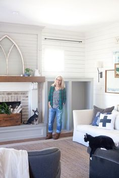 Living Room | Farmhouse | The Lettered Cottage | Makeover