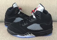 Air Jordan 5 Retro With Nike Air Releases In July #thatdope #sneakers #luxury #dope #fashion #trending
