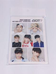 GOT7 Got 7 Postcard Set + Sticker KPOP Korea Post Card K-POP Korean K Pop