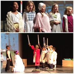 The 3rd grade performed The Giant King during the lower school assembly 11/22