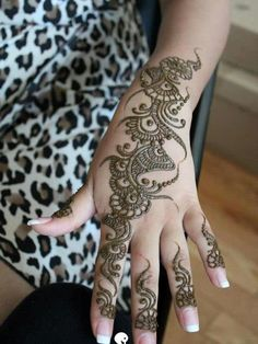 mehandi designs | latest beautiful hand mehndi designs 2013 arabic Simple Arabic Mehndi ...