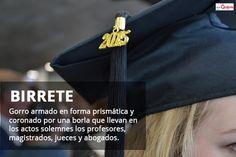 Spanish Word of the Day: BIRRETE #Spanish #LearnSpanish   http://www.donquijote.org/spanish-word-of-the-day/word/birrete