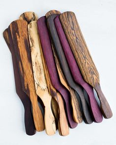 Wood Pallet Projects This exotic wood spurtle is a cross between a spatula and a spoon and is the single most universal utensil and a must-have for your kitchen. Easy Woodworking Projects, Popular Woodworking, Woodworking Jigs, Woodworking Furniture, Wood Furniture, Woodworking Classes, Woodworking Articles, Woodworking Beginner, Green Woodworking
