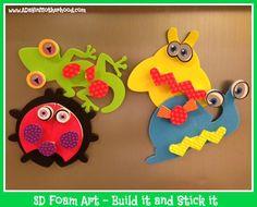 Image result for 3d craft foam kits