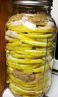 Brown-Sugar & Cinnamon Preserved Ponderosa Lemons from BlogHer's own HomeRearedChef.