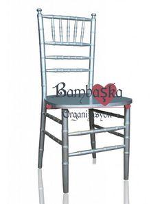 Gümüş Tiffany Sandalye Kiralama
