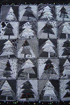 black and white Christmas? by Jessica's Quilting Studio