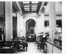 Springfield, IL. Old Lincoln Library 1900's. Courtesy of Springfield Rewind and Sangamon Valley Archives.