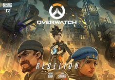 """Blizzard publica un nuevo cómic de Overwatch llamado """"Rebelión"""""""