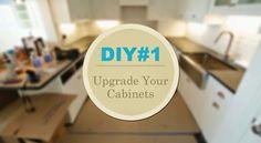 DIY   Upgrade your cabinets  http://klassykalifornian.blogspot.com/2014/10/update-jennifer-adams-del-mar-remodel.html
