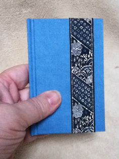 Pocket size blank book. Made by Roxanne Bedard