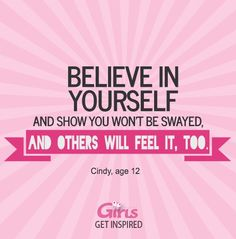 Believe in Yourself #InspirationalQuotes #GetInspired