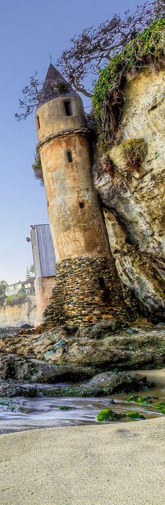 Castle Turret at Victoria Beach - Laguna Beach, California | US