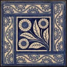 Decorating your floor with ceramics can add a much-needed pop of color to your home. Ceramic tiles and quite affordable and give your home an elegant and unique touch without drowning out other are… Clay Tiles, Mosaic Tiles, Deco Design, Tile Design, Tile Patterns, Textures Patterns, Art Nouveau Tiles, Tuile, Vintage Tile