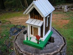 Quaint Little Birdhouse by TheBirdhouseShop on Etsy