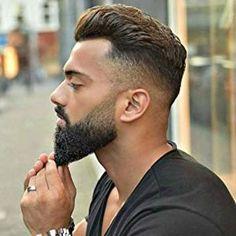 Official Website of Striking Viking Medium Beard Styles, Beard Styles For Men, Hair And Beard Styles, Soul Patch, Hot Beards, Black Men Beards, Van Dyke Bart, Moustache, Barba Van Dyke