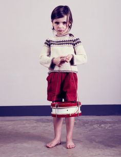Hambro and Miller baby alpaca knitwear for kids fashion winter 2013