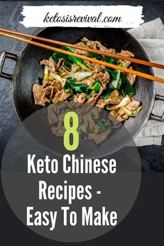 Sharing this list of delicious keto Chinese recipes you can try at home. These recipes create all the incredible flavors and diversity of Chinese food without sacrificing your keto lifestyle. Find the recipes on this pin! #ketosis #ketodiet #lowcarbdiet #ketodietrecipe #chinesefood #ketochinesefood Keto Chinese Food, Traditional Chinese Food, Easy Chinese Recipes, Easy Snacks, Keto Snacks, Healthy Snacks, Snack Recipes, Easy Meals, Keto On The Go
