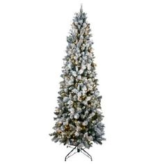 8' Pre-Lit Flocked Christmas Tree http://shop.crackerbarrel.com/8-Pre-Lit-Flocked-Christmas-Tree/dp/B00EHUGSAK