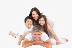 Happy Familly Looking At The Camera Stock Photo, Picture And Royalty Free Image. Studio Family Portraits, Family Portrait Poses, Family Picture Poses, Family Portrait Photography, Family Posing, Photography Poses, Family Photos, Family Stock Photo, Family Potrait