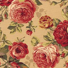 funky Furniture a professionale Craft fair Floral Upholstery Fabric, Fabric Roses, Fabric Decor, Fabric Rug, Vintage Floral Fabric, Vintage Fabrics, Decoupage, Funky Furniture, Painted Furniture