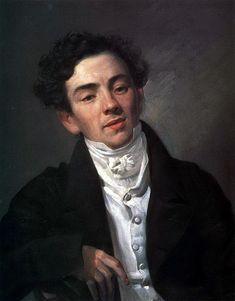 Portrait of the Actor A. N. Ramazanov, 1821 Karl Bryullov