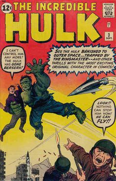 Incredible Hulk marvel comic book cover art by Jack Kirby Hulk Marvel, Marvel Comics, Hulk 3, Hulk Comic, Marvel Comic Books, Comic Book Characters, Comic Books Art, Avengers, Book Art