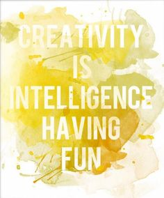 It is all about creativity