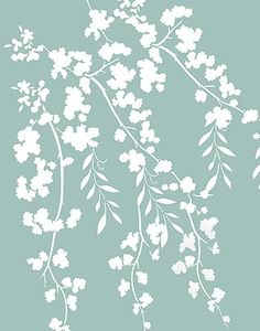 Blossom Stencils Oversize Flower Silhouettes Stencil                                                                                                                                                                                 More