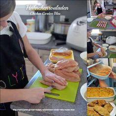 Making Chicken Cordon Bleu ... by my 12 year-old greanddaughter! http://www.quick-german-recipes.com/chicken-cordon-bleu-recipe.html