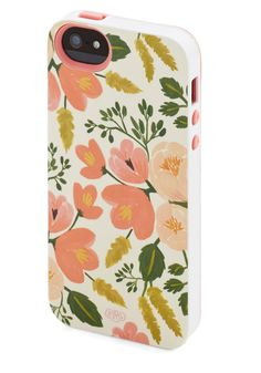 Pop-Up Flower Shop iPhone 5/5S Case. Its hard to say where youll be asked to show your bouquets next, so your cell - clad in this lovely floral iPhone case by Rifle Paper Company - never leaves your side. #pink #modcloth