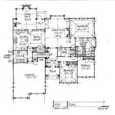 Home Plan 1440 - First Floor Plan
