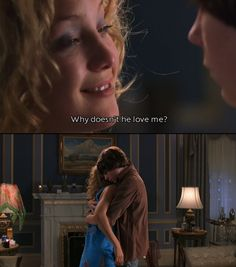Why doesn't he love me? One of my top 5 favorite scenes from Almost Famous.