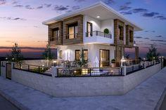 Villa Eylül #render #houses #architecture #villa