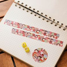 Yokai Collection Masking Tape  This masking tape is full of yokai!! All of them will bring you happiness all the day!~  Size:15mmx10m   https://c1.sta...
