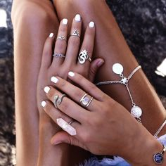 Boho jewelry. For more follow www.pinterest.com/ninayay and stay positively #inspired